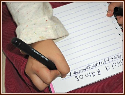 escribe