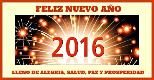 2016 feliz